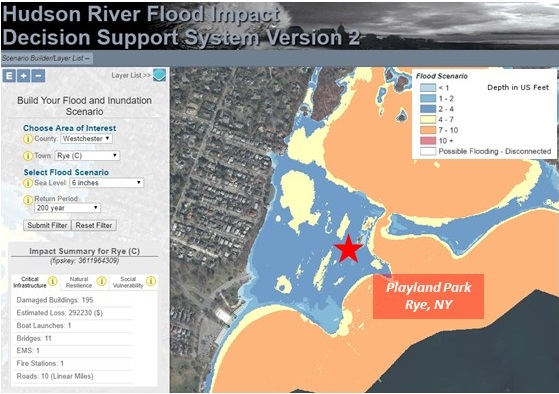 Evaluate your community's flood risk with the Hudson River
